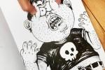 80 dibujos que se salen del papel – Anamorfosis ceslava 62