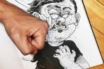 80 dibujos que se salen del papel – Anamorfosis ceslava 64