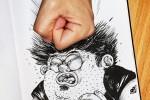 80 dibujos que se salen del papel – Anamorfosis ceslava 67