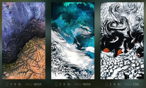 fotografias gratuitas planeta Tierra espacio NASA WLPPR
