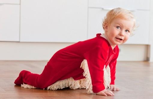pijama limpiador niño