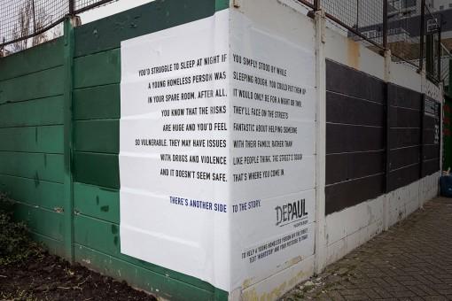 publicidad hay otro lado de la historia depaul homeless sintecho