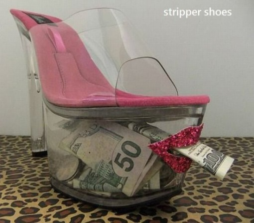 zapato para stripper