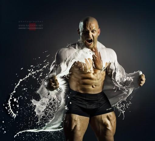 Andrey Razoomovsky fotografias moloko leche hombre