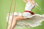 Fotografías de superheroínas y Pin-ups vestidas con leche ceslava 5