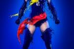 Fotografías de superheroínas y Pin-ups vestidas con leche ceslava 20