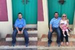 El «Rodríguez» que gana 2 viajes por fotografiarse extrañando a su familia ceslava 30