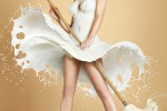 Fotografías de superheroínas y Pin-ups vestidas con leche ceslava 2