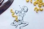Kristián Mensa: Ilustraciones + objetos cotidianos ceslava 14