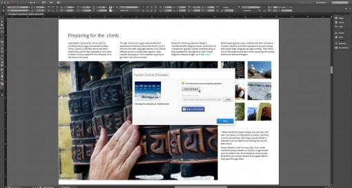 adobe indesign cc 2105 publicación online