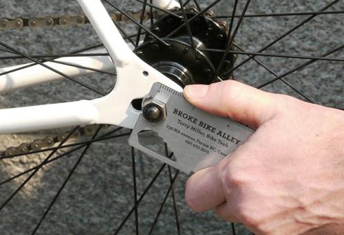 broke_bike_alley taller bicicletas tarjetas presentacion originales