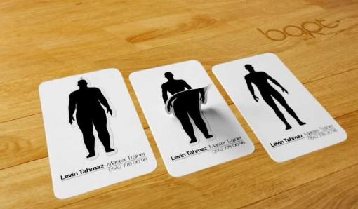 entrenador personal 2 tarjetas presentacion originales