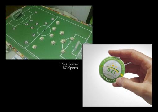 futbol 3 tarjetas presentacion originales