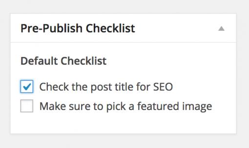 pre publish post plugin wordpress