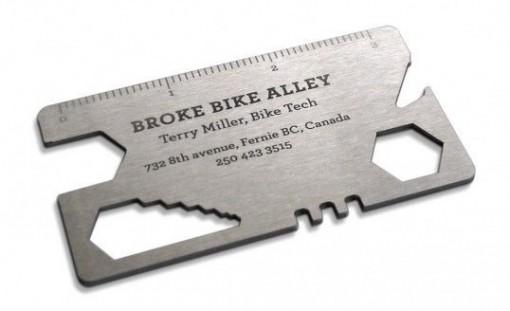 taller bicicletas tarjetas presentacion originales