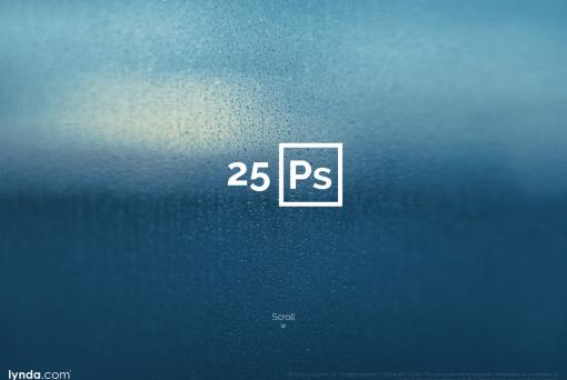 Celebrate Photoshop s 25th Anniversary with lynda.com