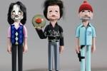 Muñecos de famosos personajes del cine, series y la música ceslava 9