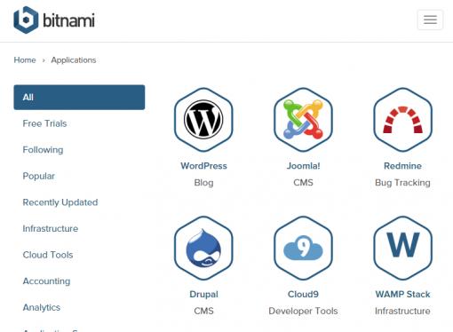 Bitnami Stacks WordPress local