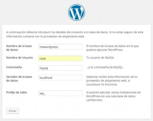WordPress › Instalación del archivo de configuración-2