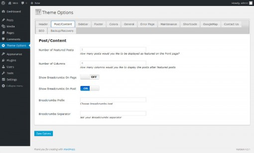 templatetoaster-wordpress-framework