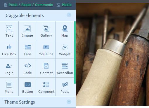 upfront-wordpress-panel