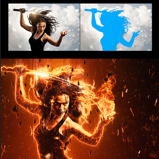 Dribbble pyroclasm photoshop actions preview 1.jpg by Nuwan Panditha