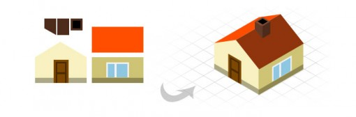 from-2d-shape-to-3d-isometric-icon