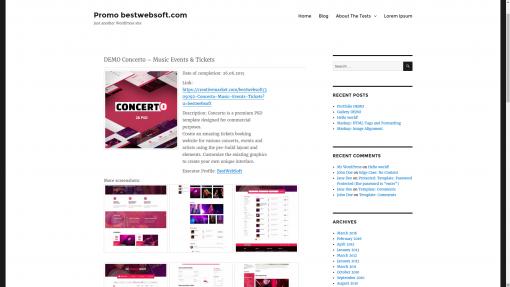 Portfolio by BestWebSoft — WordPress Plugins