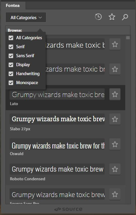 fontea-google-fonts-plugin-gratuito-photoshop