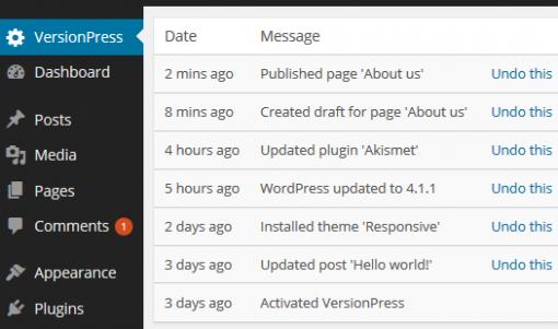 versionpress-plugin-wordpress