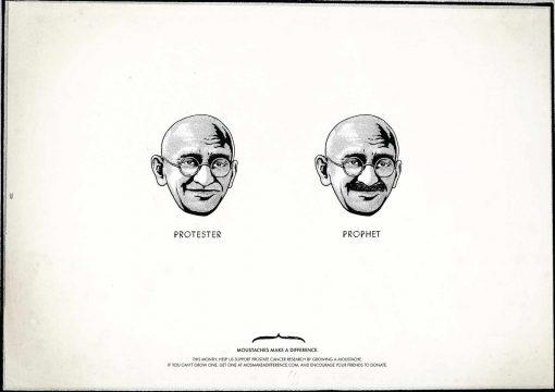 Gandhi protester - profeta