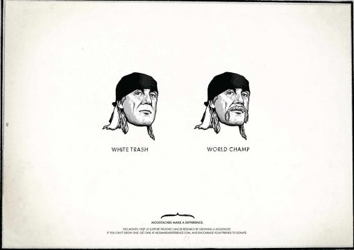 Hulk Hogan basura blanca o campeón mundial