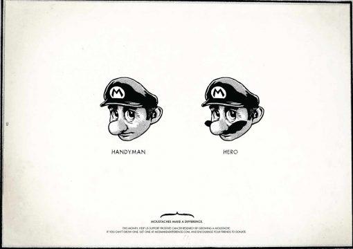 Super Mario manitas- heroe
