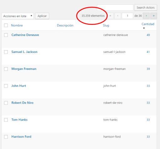 WordPress: Ordenar cronológicamente etiquetas, categorías y taxonomías ceslava 1