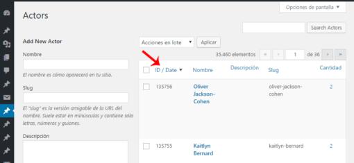 WordPress: Ordenar cronológicamente etiquetas, categorías y taxonomías ceslava 2