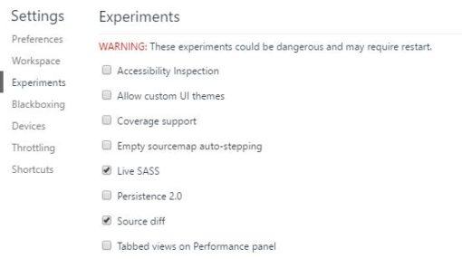 Cómo editar en vivo CSS o Sass con Chrome ceslava 3