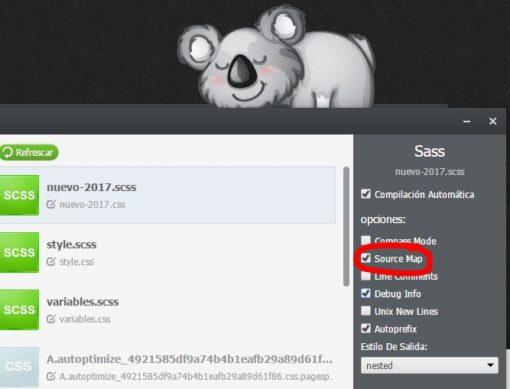 Cómo editar en vivo CSS o Sass con Chrome ceslava 2