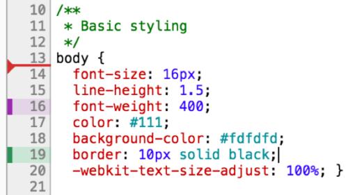Cómo editar en vivo CSS o Sass con Chrome ceslava 4