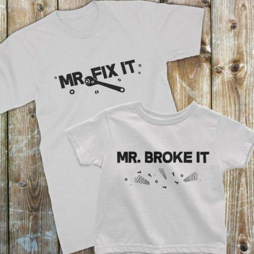 Camisetas para padres e hijos ceslava 8
