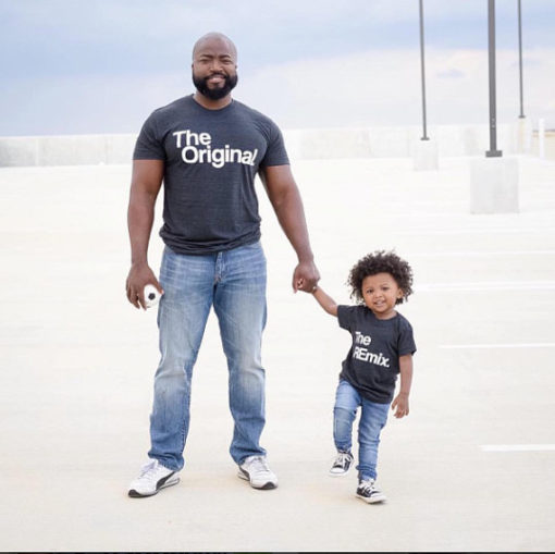 Camisetas para padres e hijos ceslava 0