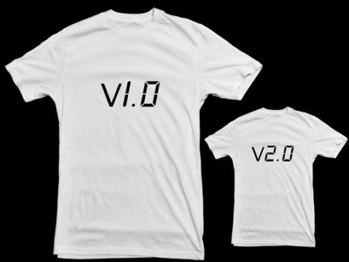 Camisetas para padres e hijos ceslava 18