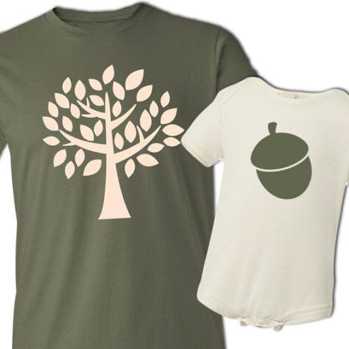 Camisetas para padres e hijos ceslava 17